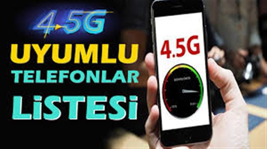 Cep Telefonunuz ve SIM Kartınız 4.5G'ye Uyumlu mu?