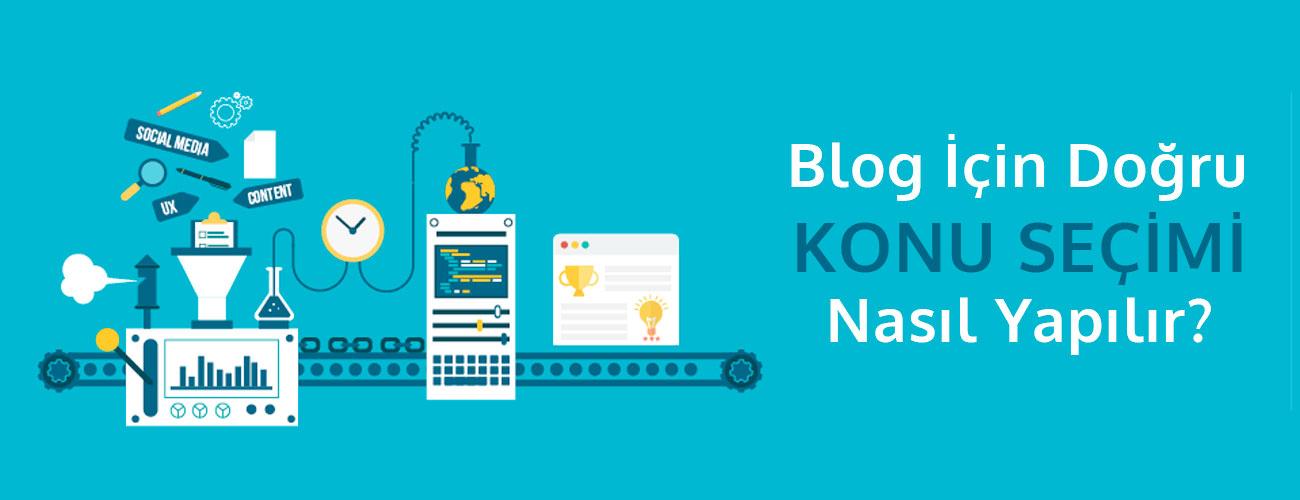 Blog Sektörü Neye Göre Seçilmelidir ?