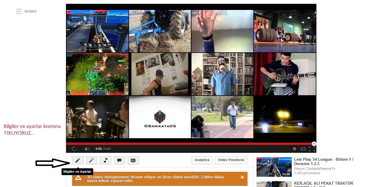 YouTube'ye Kaliteli Videolar Yüklemenin Yolları