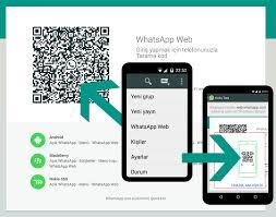 Whatsapp'ın web uygulaması nasıl kullanılır?