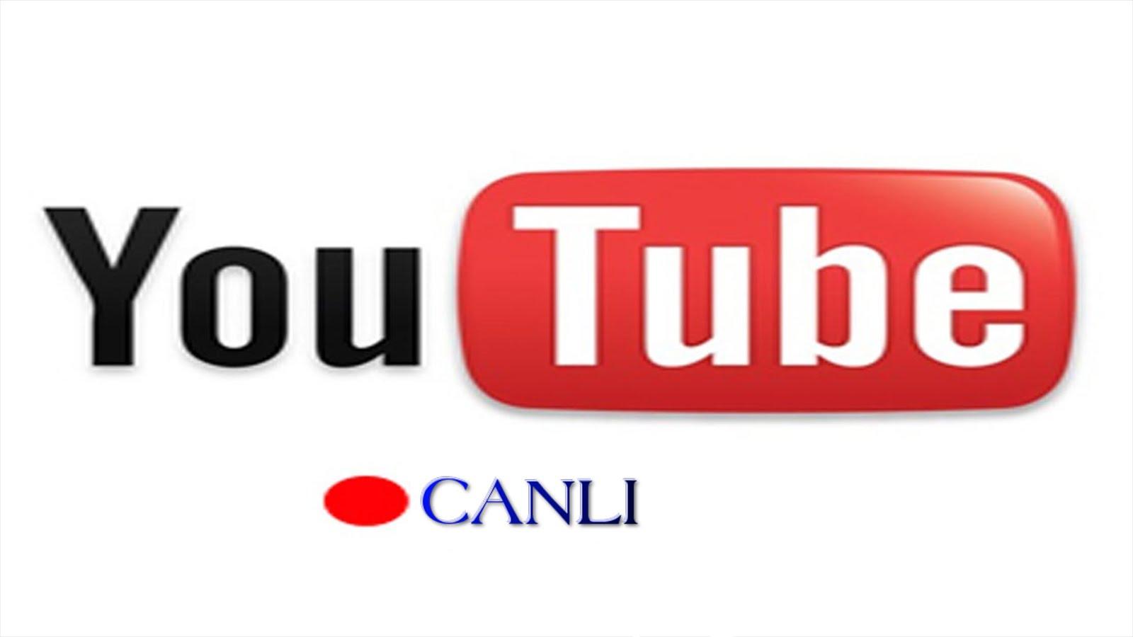 Canlı Yayın Platformlarına Bir Yenisi Daha, YouTube!