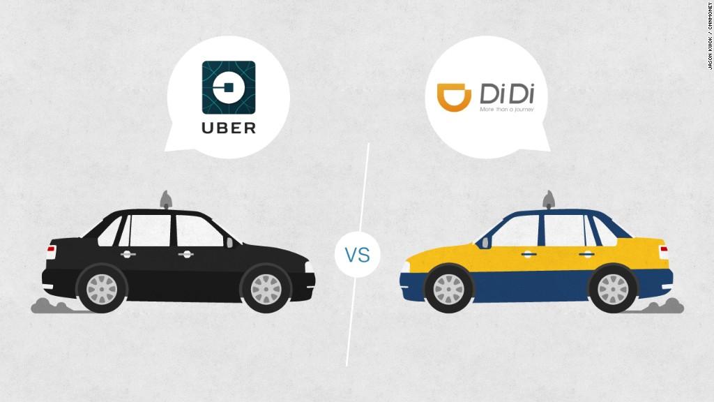 Araç çağırma servisi Didi Chuxing, Uber'in Çin operasyonunu satın aldı