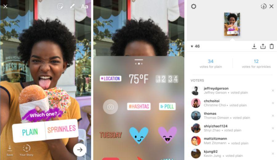 Instagram'da yeni macera anket özelliği eklenmiştir