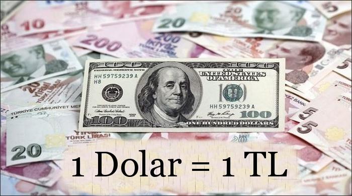 Dolar 1 TL olsaydı Türkiye'de ne olurdu?